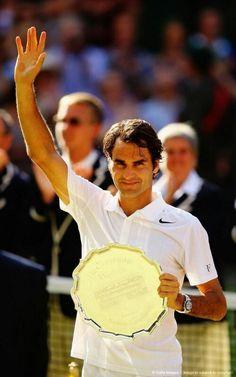 Roger Federer Wimbledon always a champ Tennis Scores, Atp Tennis, Sport Tennis, Federer Wimbledon, Wimbledon Tennis, 2014 Wimbledon, Tennis Tournaments, Tennis Players, Tennis Trophy