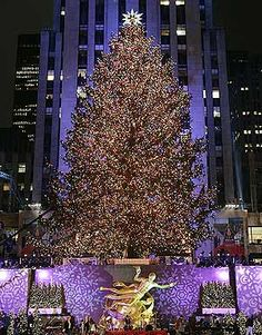 Rockefeller Center at Christmas time