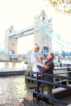 love story engagement photoshoot  in London, autumn tower bridge, st katharine docks