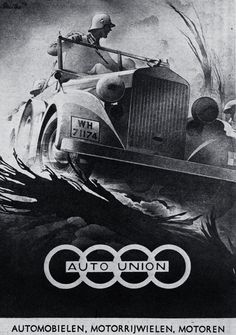 Auto Union (1943): Graphic by Bernd Reuters