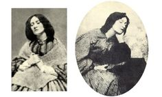 """Elizabeth """"Lizzie"""" Siddal Rossetti - these photos are taken some years before her death in OD - it is suspected that it was intentional, she was severely depressed Elizabeth Siddal, Deep Red Hair, Pre Raphaelite Brotherhood, Old Photographs, Photos, Artist Quotes, Aesthetic Movement, Victorian Art, Vintage Photography"""