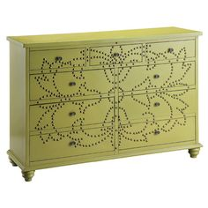 I pinned this Kendall Accent Chest from the Lilly Pulitzer's Janie Schoenborn event at Joss and Main!