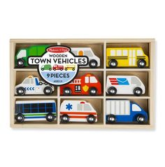 Check it out! Melissa & Doug To... http://www.bellylaughs.ca/products/melissa-doug-town-vehicle-set?utm_campaign=social_autopilot&utm_source=pin&utm_medium=pin