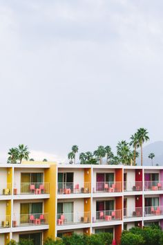 Color spotting in Palm Springs. There's nothing like a historic, mid-century motor hotel.