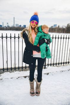 COAT: Nordstrom (low in stock, similar here) // SWEATER: Alexander Wang via The Outnet // SUNGLASSES: Revolve Clothing (similar here and here) // BEANIE: Shopbop (similar here) // LIPSTICK: MAC 'Coral Bliss' // BOOTS: Sorel // JEANS: AG Jeans THE BOYS DETAILS: A's SNOWSUIT: Patagonia // D's JEANS: J Brand // COAT: ASOS // BOOTS: Sperry …