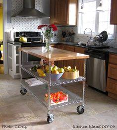 Paco+Lupe: +Kitchen Reno - Kitchen Island...on a budget