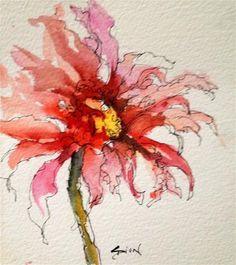 "Daily+Paintworks+-+""Splendid""+-+Original+Fine+Art+for+Sale+-+©+Sue+Dion"