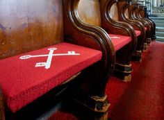 Leeds Parish Church Cushions, Pews, Kneelers, and Tapestry. We have made church pews and kneelers to the highest standards for many years but did you know that we can also fill fabrics and tapestry supplied to us. Get in touch to discuss your options.