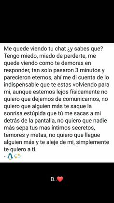 Simplemente te quiero a ti! Love Phrases, Love Words, Sad Love, Love You, Welcome To Reality, Sad Texts, Fun Questions To Ask, Quotes En Espanol, Tumblr Love
