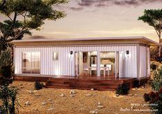 2 bedrooms container house