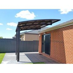 One Sided Overhang Carport Carport Privacy Fence - Metal Overhang Carport