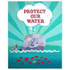 Protect Our Water Whale