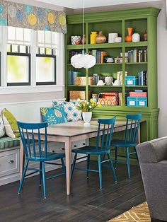 Bold Built-Ins: 10 Times Shelving Was Made Better By Paint | Apartment Therapy