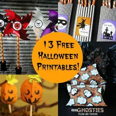 I'm not sure if anyone could love Halloween as much as I do - it mightbe possible. One thing I love about Halloween (besides the candy, of course) is all the fun printables! There are so many for party, decorating and candy holding. I've pulled together a collection of Halloween printables for you to enjoy,…
