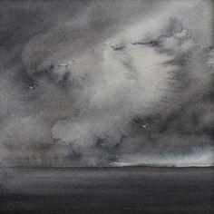 original watercolour painting summer storm by SeasideStudiosUK, £45.00