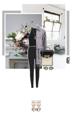 """""""How to stay classy in lagging with yoins"""" by s-thinks ❤ liked on Polyvore featuring Illesteva, Valentino and yoins"""