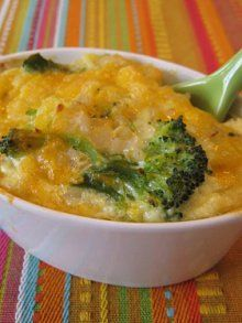 Veggie casserole when all you have on hand is frozen veggies, milk & some eggs. Basic, easy meal.