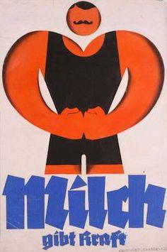 Tirol Poster Milch by Joseph Binder