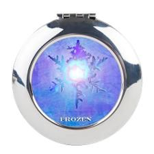 Let it go inspired Round Compact Mirror