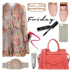 """""""friday !"""" by marie-de ❤ liked on Polyvore featuring Zimmermann, Proenza Schouler, Gucci, Olivia Burton, Iphoria, Allurez, Bobbi Brown Cosmetics and Lapcos"""