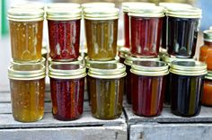 """A review of five common home food preservation methods, including water bath canning and freezing. My freezer """"cheat sheet"""" will tell you how to freeze most fruits and veggies!"""