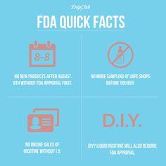 Some Quick Facts.  #FDA #DeemingRegulations #Share #vape #igers #instadaily #webstagram #vapor #ecig #eliquid #VGOD #vapeporn #improof #vapelyfe #calivapers #notblowingsmoke #photooftheday #repost #fun #vapehooligans #vapefam #dripclub by dripclub