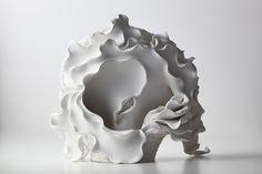 Sea of Memory 046 ‹ Noriko Kuresumi- For Kelsey Sculptures, Lion Sculpture, Pottery Workshop, Coil Pots, Pottery Classes, Ceramic Studio, Contemporary Ceramics, Ceramic Artists, Ceramic Pottery