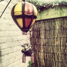I want to fly in my high balloon with you.