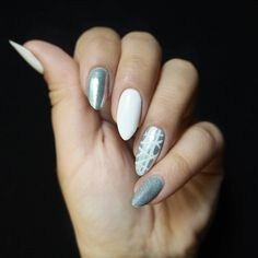 #paznokcie #manicure #hybrydy #inspiracje #nails #patamaluje #patabloguje #nailsart Fun Nails, Pretty Nails, Cherry Blossom Nails, Polka Dot Nails, Creative Nails, Nails Inspiration, Summer Nails, You Nailed It, Hair And Nails