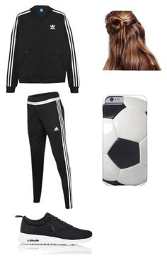 """""""Soccer Practice"""" by ilianavaldez on Polyvore featuring adidas, NIKE, adidas Originals, women's clothing, women, female, woman, misses and juniors"""