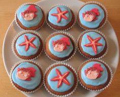 Ponyo cupcakes!
