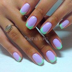 Lavender & Mint Green