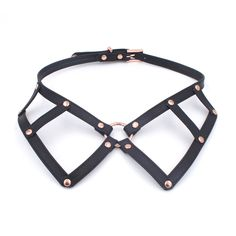 Leather Chocker, Leather Collar, Diy Leather Harness, Peter Pan Collars, Collar Designs, Jewelry Polishing Cloth, Jewelry Accessories, Rose Gold, Effort