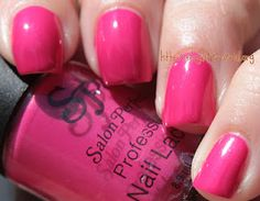 A lovely pink! - Salon Perfect Berry Pink