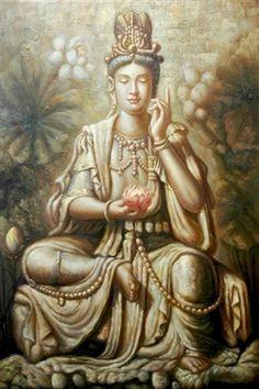 The legend of Quan Yin, Goddess of mercy.