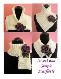 New Free Crochet cowl flower Suggestions PLEASE NOTE: This listing is for a PDF crochet pattern which can be used to make the pictured cape, Col Crochet, Crochet Motifs, All Free Crochet, Crochet Basics, Easy Crochet Patterns, Crochet Shawl, Crochet Hooks, Knitting Patterns, Scarf Patterns