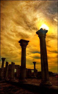 Ancient basilica in Chersonesus, Haharins'kyi district, Sewastopol, Ukraine