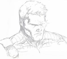 Cable- BIlly Tan Comic Art