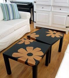 I LOVE THIS COFFEE TABLE DESIGN. It's so simple, and so customizable.