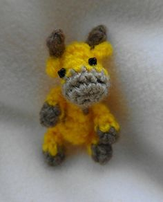 Oh, so tiny! Giraffe by Cute and Kaboodle
