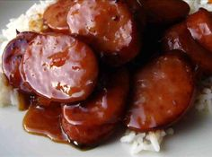 1-2-3 BBQ sausage recipe Serves: 12 Prep Time: 15 Min Cook Time: 35 Min Ingredients 3 lbsmoked sausage 1 bottle18 oz bbq sauce 1 cbrown sugar Directions Cut Sausage into 2in pieces. Put in a 13 x 9 baking dish. Combine sauce and sugar. Bake uncovered at 350 for about 35 mins. Till sauce is thick stirring only once.