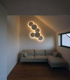 Vibia Puck Wall Art Light Series