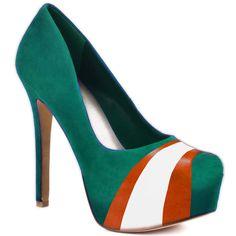 herstar, turquois orang, miami dolphins, colors, pumps, oranges, orang white, heels, shoe