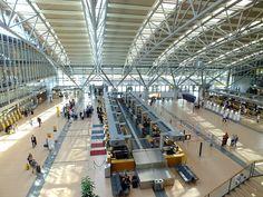 struktur, bangunan, Bandara, mengangkut, Stasiun kereta, transportasi umum