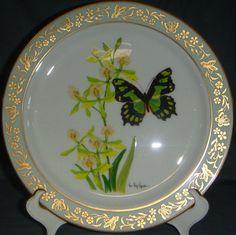 yellow lenox stuff | Lenox Butterfly & Flowers Butterfly Dinner Plate - In Yellow