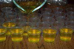 The Holy Grail of jello shot recipe lists. Champagne Jello shots anyone? Maybe a Vodka Redbull jiggler?