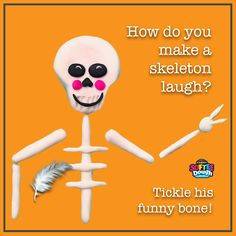 A funny Halloween joke for the entire family, both adults and kids! Clean Funny Jokes, Funny Jokes For Kids, Silly Jokes, Good Jokes, Kid Friendly Jokes, Friday Jokes, Christmas Jokes For Kids, Funny Halloween Jokes, Jokes And Riddles
