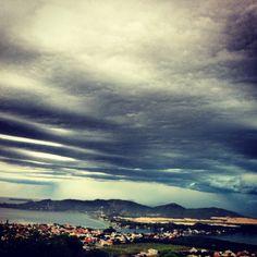 Rain arriving - Lagoa da Conceição