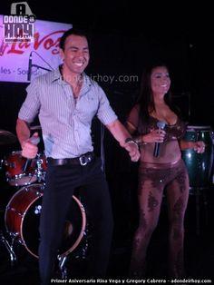 Primer Aniversario de Rina Vega y Gregory Cabrera