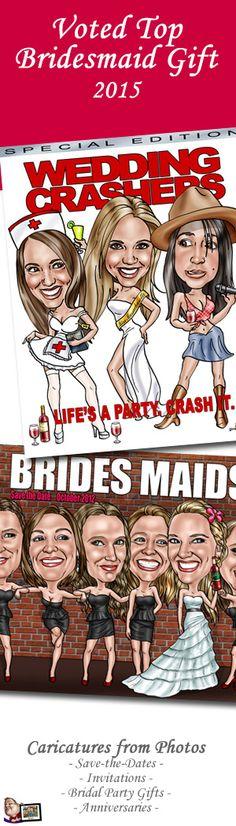 Fun and memorable bridesmaids gift idea!